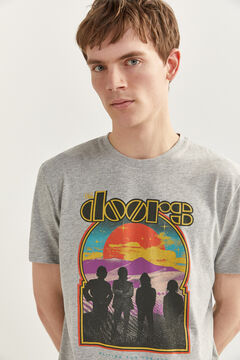 Springfield THE DOORS T-SHIRT grey