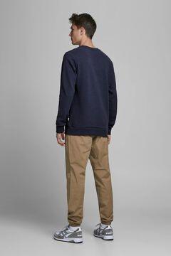 Springfield Essential crew neck sweatshirt navy