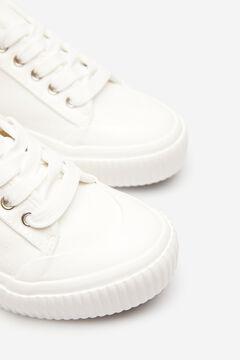Springfield Essential Canvas Sneaker ecru