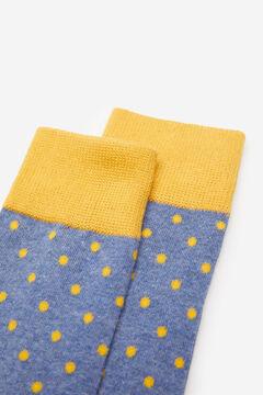 Springfield Pöttyös zokni kék