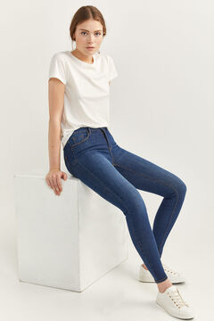 Springfield Body Shape Jeans blue