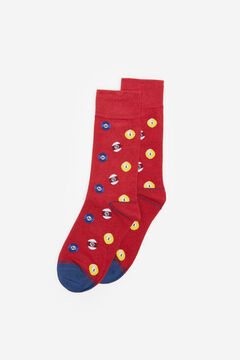 Springfield BILLIARD BALL SOCKS royal red