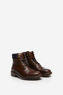 Springfield COSY CUFF WORKER BOOT brown