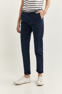 Springfield Chino trousers  blue mix
