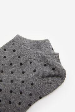 Springfield Spotty ankle socks gray