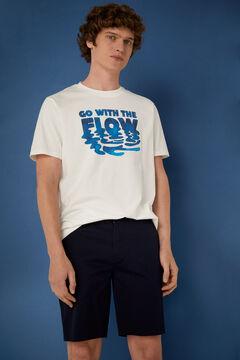 Springfield Flow T-shirt ecru