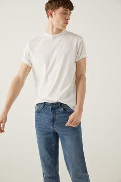 Springfield T-shirt básica logo branco