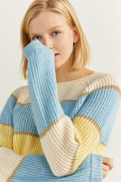 Springfield Pastel Colour Block Jumper color