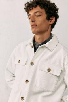 Springfield Corduroy overshirt natural