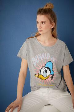 Springfield Donald Duck T-shirt grey