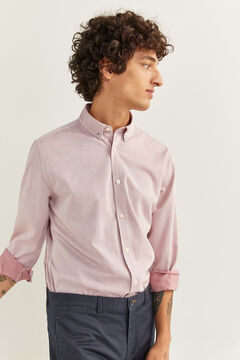 Springfield DOBBY SHIRT royal red