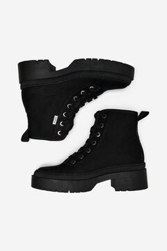 Springfield Canvas boots black