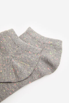 Springfield Marl No-Show Socks grey