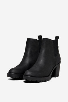 Springfield Rubber soled ankle boot black