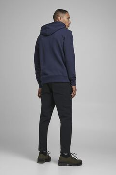 Springfield Sustainable organic cotton hoodie navy