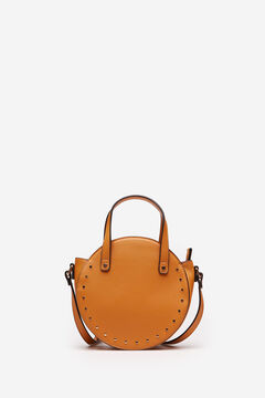 Springfield STUDDED ROUND HANDBAG brown