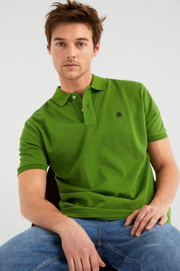 4dd77abb Springfield Essential polo shirt green water
