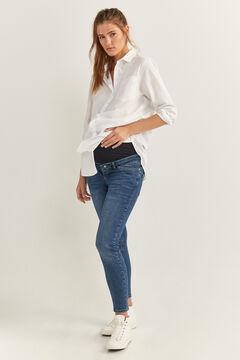 Springfield Jeans Premamá azul