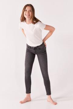 Springfield Jeans Slim Algodón Reciclado gris