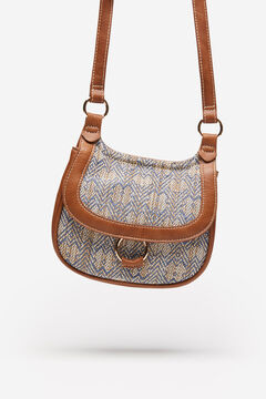 Springfield Jacquard Saddle Bag camel
