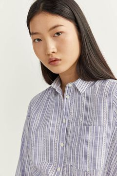 Springfield Striped shirt blue