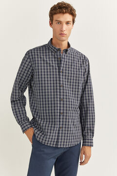 Springfield CHECKED SHIRT navy