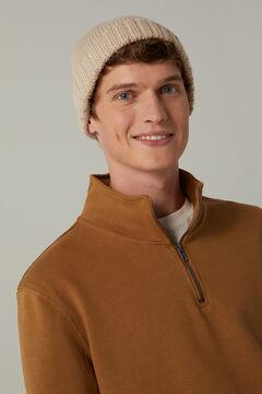 Springfield Essential trucker sweatshirt beige