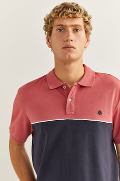 Springfield Polo block color rose