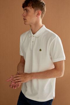 Springfield Polo piquet básico branco