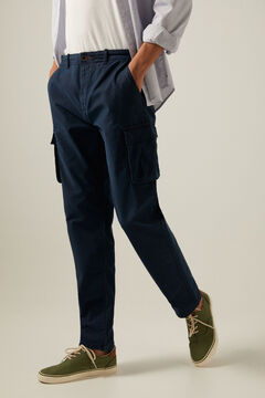 Springfield Cargo trousers blue