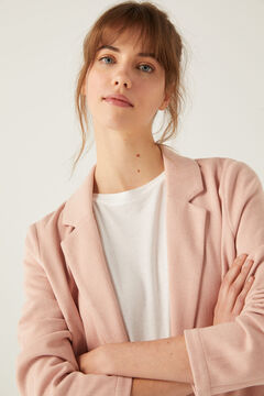 Springfield Textured blazer strawberry