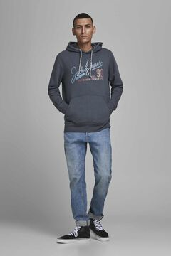 Springfield Sustainable organic cotton hoodie bluish