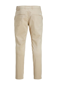 Springfield Marco slim fit chinos  brown