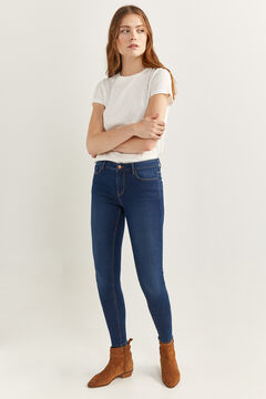 Springfield Jeans Jegging blau