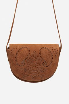 Springfield Cutwork crossbody bag brown