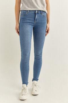 Springfield Jeans Jegging Lavage Durable bleu acier