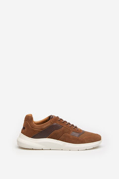 Springfield SPLIT LEATHER TRAINER brown