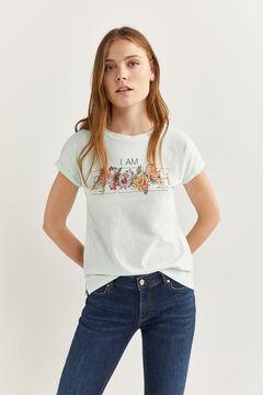 Springfield T-Shirt Grafik green