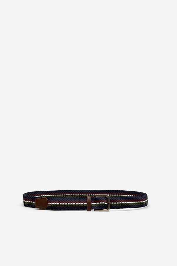 Springfield Cinturón trenzado azul azul b36e3376be44