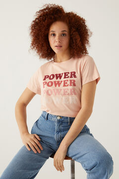 Springfield Graphic t-shirt pink