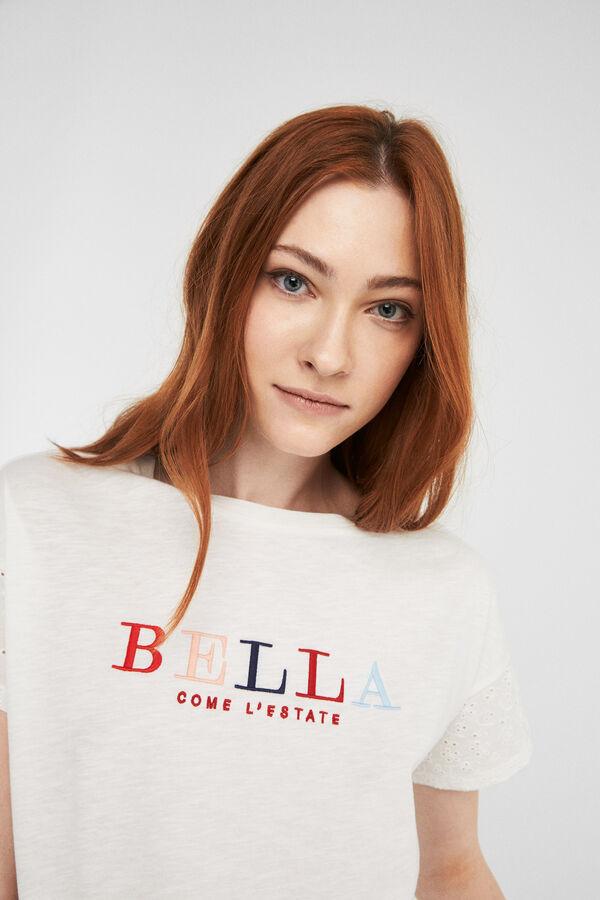 10347b2c Springfield Bella' t-shirt grey