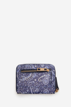 Springfield Printed purse blue mix