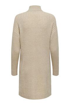Springfield Jersey-knit mock turtleneck dress szürke