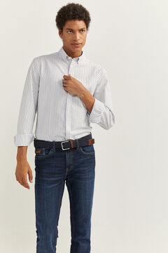 Springfield STRIPED SHIRT white