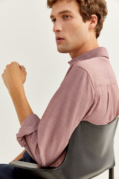 Springfield DOBBY SHIRT deep red