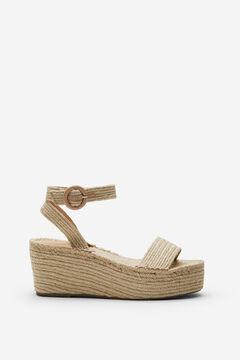 Springfield Jute sandal brown