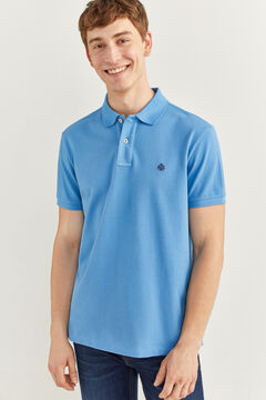 Springfield ESSENTIAL PIQUE POLO SHIRT indigo blue