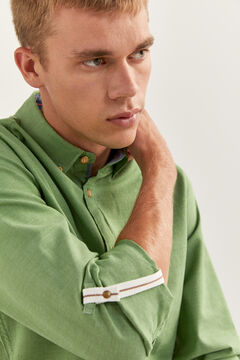 Springfield TEXTURED SHIRT green