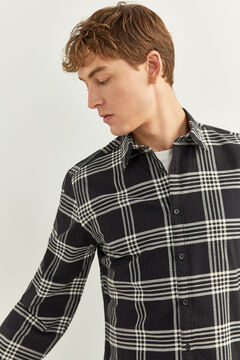 Springfield CHECKED SHIRT black