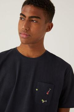 Springfield Cocktails jersey-knit short pyjamas bluish